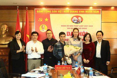 Đảng bộ Báo Pháp luật VN: Tổ chức thành công Đại hội 2 Chi bộ Khối Hành chính và Khối Nội dung